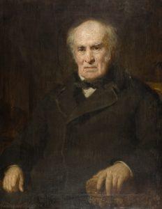 Portrait of John Boyd Baxter by Sir David MacNee.