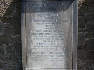 Mrs Captain Scott - Memorial Inscription