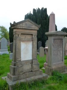 Gravestone of Andrew Taylor DD - Western Cemetery, Dundee