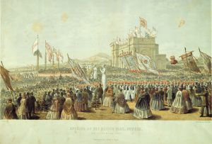 The Opening of Baxter Park, 9 September 1863
