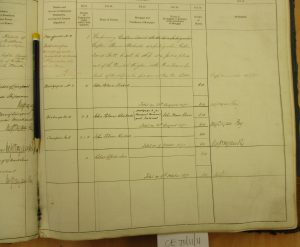 Shipping register - Ousuri (right page lower)