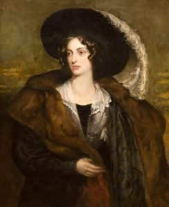 Mrs Duncan (d 1834), wife of George Duncan, nee Hester Eliza Wheeler: (c 1830) - Robert Scott Lauder (1803-1869). With kind permission of Dundee Art Galleries and Museums.
