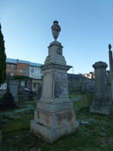 Memorial Stone for David Scott - Western Cemetery