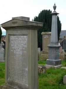Gravestone of David Scrimgeour - Western Cemetery, Dundee