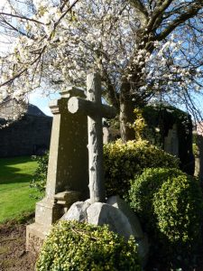 Gravestone of Dr David Ramsay Sturrock in Barnhill Cemetery