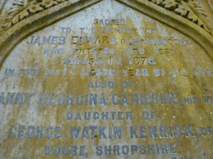 Memorial Inscription - Liff Kirkyard