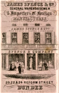 (Post Office Dundee Directory including Broughty Ferry and Lochee for 1861-1862 National Library for Scotland via Creative Commons, http://www.archive.org/stream/postofficedundee186162dun#page/n5/mode/2up )