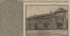 P.A Feathers was continued as a business by Peter Junior, who was also a pioneer of Scottish cinema. Dundee Courier - Tuesday 18 October 1910 Page 7
