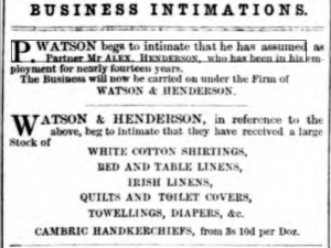 Dundee Courier 16th March, 1860