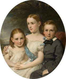 Portrait of James Neish's nieces and nephew by Sir Daniel MacNee - with kind permission of Leisure and Culture, Dundee