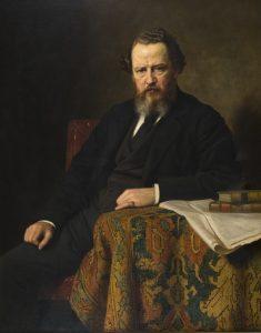 Portrait of Alexander Keiller by Norman McBeth.