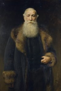 Portrait of George Armitstead by Sir Arthur Stockdale Cope. Reproduced from the collections of The McManus, copyright Dundee City Council (Dundee's Art Galleries and Museums).