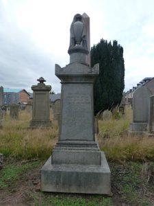 George Ireland Memorial Stone - Western Cemetery (2018)