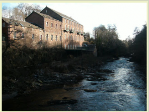 Keathbank Mill on the River Ericht