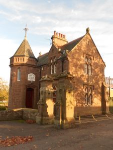 Lochee Park Lodge photo by Steve Connelly, 2018