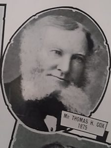 Thomas H Cox, President of Chamber of Commerce. Courtesy Leisure & Culture Dundee.