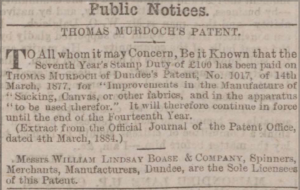 Dundee Courier 11 march 1884 - Image©THE BRITISH LIBRARY BOARD. ALL RIGHTS RESERVED