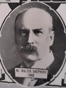 Walter Shepherd from Chamber of Commerce Centenary Souvenir 1936. Courtesy Leisure & Culture Dundee.