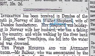Report of the drowning of Emma Shepherd in Norway - ©THE BRITISH LIBRARY BOARD. ALL RIGHTS RESERVED.