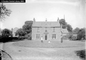 Westfield House - home of James McEwen - Image accessed via Photopolis website by kind permission of Leisure and Culture, Dundee