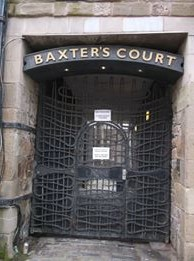 [Personal photograph taken of Baxter's Court, Cowgate, Dundee]. (2018, April 07).