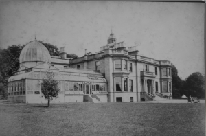 Balruddery House at the time of James Farquhar White's occupation - Image provided with kind permission of H S Cockrell