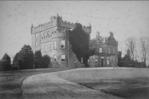 Castle Huntly circa 1879 - Image provided with kind permission of H S Cockrell