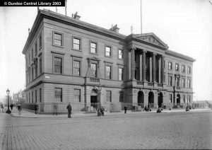 Custom House and Harbour Chambers, Dundee.