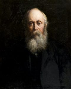 G.B. Simpson painted by Charles Louis Mitchell, c.1891. Courtesy of Leisure & Culture Dundee.