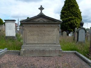Memorial Stone, Western Cemetery, Perth Road, Dundee