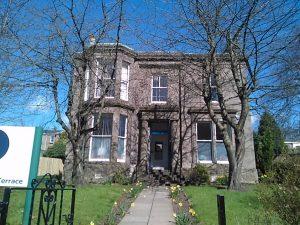 Sir Thomas Thornton's Dundee home.