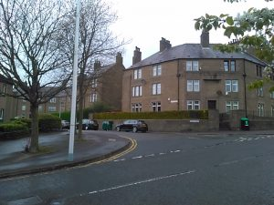 Site of Pole Park Works replaced by 20th century housing.