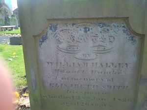 Elisabeth Smith or Halley's grave, The Howff.