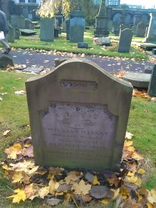 Elizabeth Smith or Halley's grave, The Howff