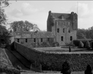 Kelly Castle, Arbirlot - (Image: Canmore, http://canmore.org.uk/site/35644)