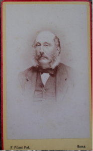 Studio Image of James Farquhar White - Image provided with kind permission of A M Smith