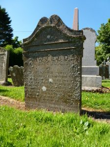 White family gravestone - Dunnichen kirkyard