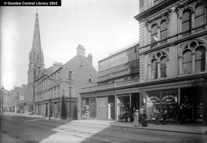 Nethergate showing St. Paul's in the distance. Courtesy of Leisure & Culture Dundee.