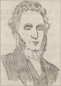 Drawing taken from a Presentation Portrait of Alexander Low. Dundee Evening Telegraph. 26 January 1894. - Image © THE BRITISH LIBRARY BOARD. ALL RIGHTS RESERVED. Image accessed via ©2019 Findmypast website.
