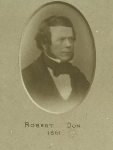 Robert Don. Courtesy of Leisure & Culture Dundee.
