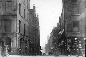 A view of Crichton Street - with kind permission of Dundee City Archives on Flickr