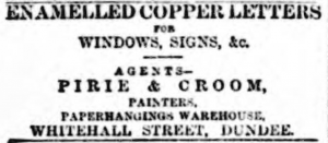 (Dundee Advertiser,  Monday 27 March 1893, Page 2, British Library via the BNA)