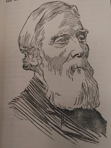 David Petrie in old age form Dundee Year Book, 1898. Courtesy of Leisure & Culture Dundee.