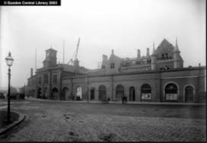 West Railway Station, South Union Street - Image  courtesy of Leisure & Culture Dundee
