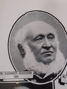 Alexander Henderson from Chamber of Commerce Centenary Souvenir 1936. Courtesy Leisure & Culture Dundee.