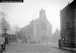 Dudhope Free Church designed by Andrew Kidd. Photopolis wc1422 courtesy Leisure & Culture Dundee.