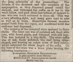 Dundee Courier, 16 April 1875.