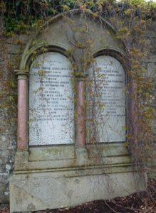 Memorial Stone in Western Cemetery