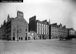 Shore Terrace., Dundee, Perth & London Shipping Co. office. Photopolis wc0600 courtesy of Leisure & Culture Dundee.