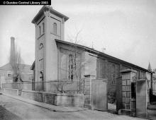 St John's Free Church, Small's Wynd. Photopolis wc1439 courtesy of Leisure & Culture Dundee.
